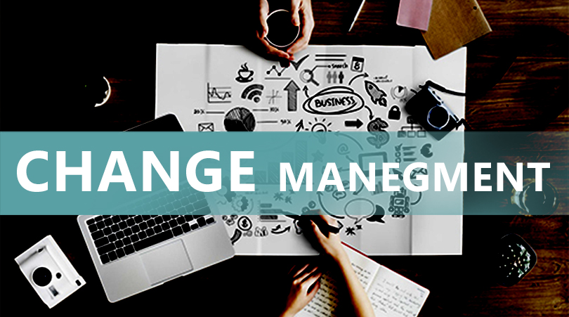 Change management concept and guidance to accept it.